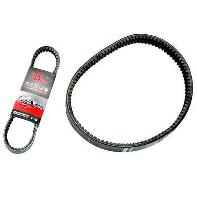Rubber V-Belt, Raw Edge/Cogged, Black, Custom length and width